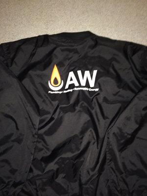 Training kit with AW logo